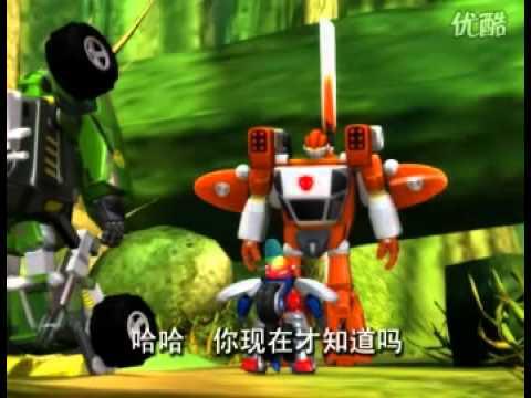 Robot biến hình Cơ Chiến Vương Full tập 31/52