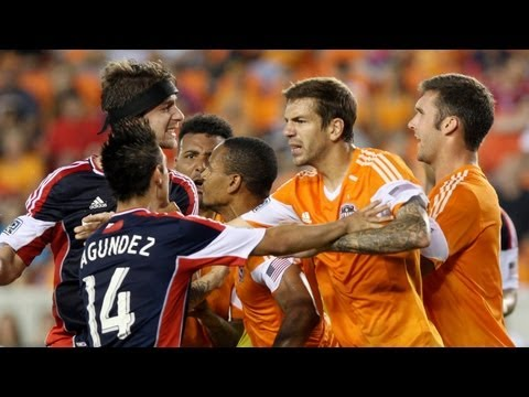 HIGHLIGHTS: Houston Dynamo vs NE Revolution | May 18, 2013