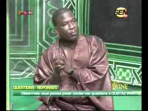 seneweb.com/Sen Diné Question Réponse avec Oustaz Iran Ndao De Ce Vendredi 13
