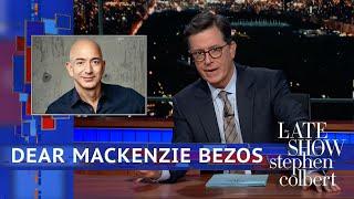 Stephen's Message For MacKenzie Bezos