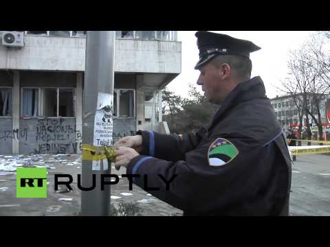 Bosnia and Herzegovina: Tuzla awakens to scenes of destruction