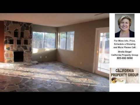 2634 Marlberry Street, Santa Maria, CA Presented by Sheila Siegel.