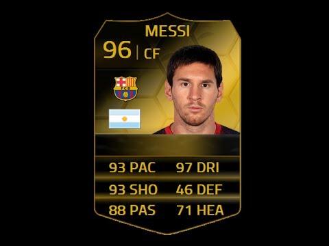 Messi Fifa 14 Card FIFA 14 SIF MES...