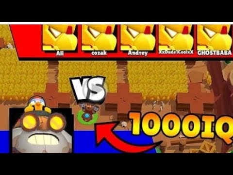 IQ Mr. BOMB vs 0 IQ - Brawl1000 Stars Funny Moments %26 Glitches %26 Fails %2330