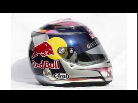 Sebastian Vettel talks about his helmet designs