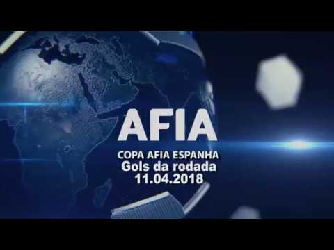 Gols da Rodada 11/04 Copa AFIA Espanha - Palma de Mallorca - 2018