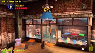 Lego Marvel Super Heroes: HUB 1 Tabloid Tidy Up Story