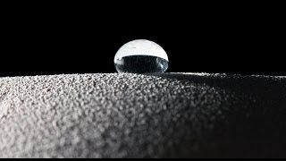 [Material Developed That Makes Water Bounce Like A Ball!] Video