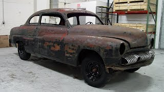 1951 Mercury Eight Restoration Project