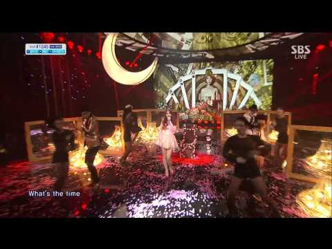 Live HD | 131020 IU - The Red Shoes @ SBS Inkigayo