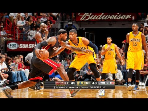 Miami Heat vs Indiana Pacers Game 2 NBA Playoffs 2014 (Heat Even Series Up 1-1)