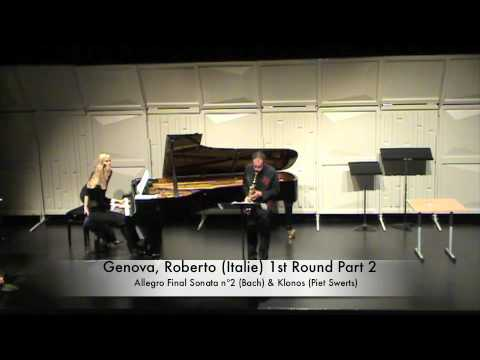 Genova, Roberto (Italie) 1st Round Part 2