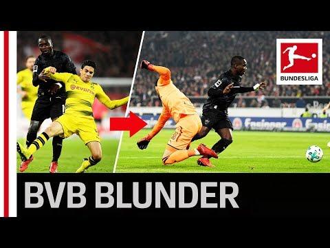 Bartra & Bürki Blooper in Another Dortmund Defeat
