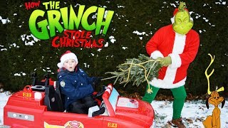Where's Our Christmas Tree Silly funny kids holiday video featuring the Grinch