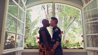 FIRST KISS IN OUR DREAM HOME!
