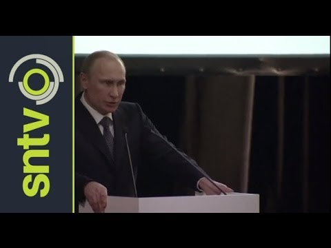 Putin declares International Olympic Committee open [AMBIENT]