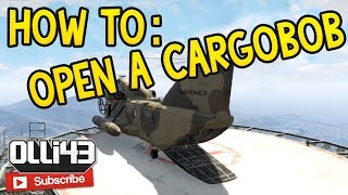 How To: Open The Cargobob And Titan (GTA 5 Online Glitch