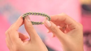 Make A Rainbow Loom Fishtail Bracelet Bracelet Patterns