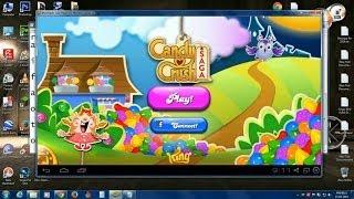How To Install Candy Crush SAGA Game To PC 2014 FREE