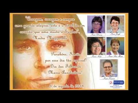 Homenagem as todas Filhas de Maria Auxiliadora