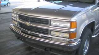 Test Drive: 1999 Chevrolet Tahoe 2-Door videos