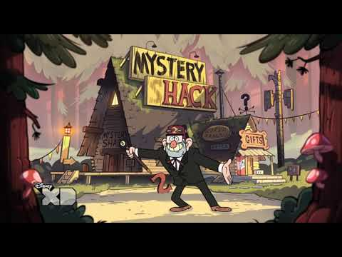 OFFICIAL Gravity Falls Opening Titles HD