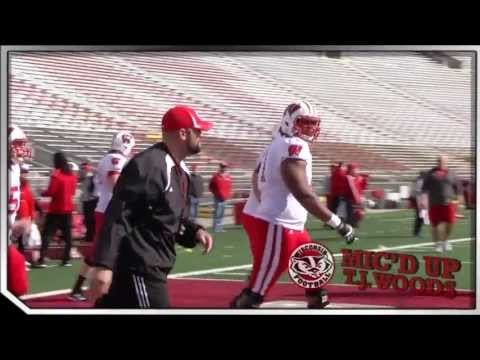 Wisconsin Football Mic'd Up: T.J. Woods