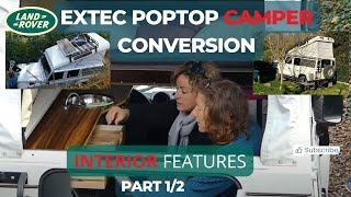 Pop-Top Defender 110 Overlander | Interior (ExTec - RR Concepts)