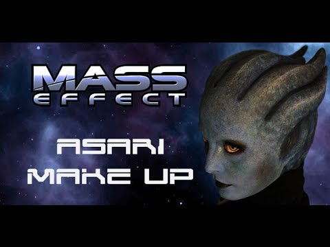 Mass Effect Asari Make up