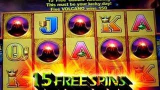 15 Free Spins + Big Win On Island Chief 5c