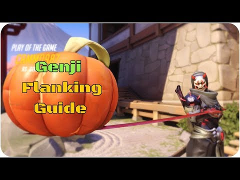 Genji Flanking Guide (The best flanks on each map) Overwatch