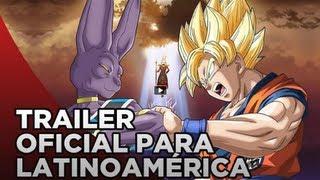 DRAGON BALL Z: LA BATALLA DE LOS DIOSES Trailer Oficial