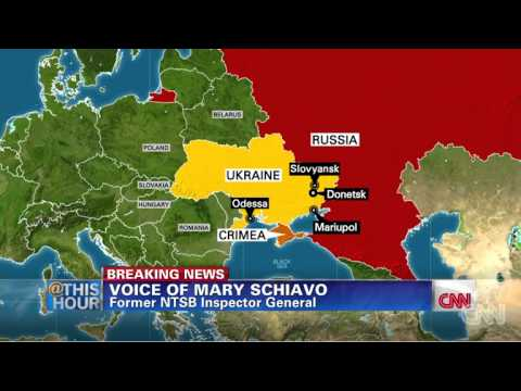 Malaysian Airlines MH17 crash in eastern Ukraine | BREAKING NEWS | CNN