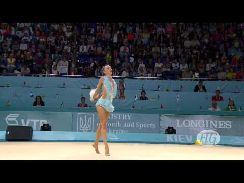 2013 Rhythmic Worlds - Kiev, Ukraine - Individual Hoop and Ball Finals - We are Gymnastics