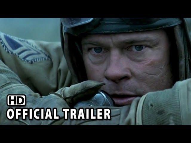 Fury Official Trailer #1 (2014) - Brad Pitt, Shia LaBeouf