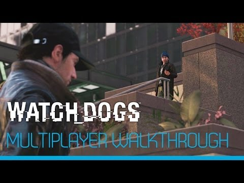 Watch_Dogs - 9 minutes Multiplayer Gameplay Demo [UK]