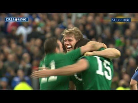 France v Ireland - Second Half Highlights 15th March 2014