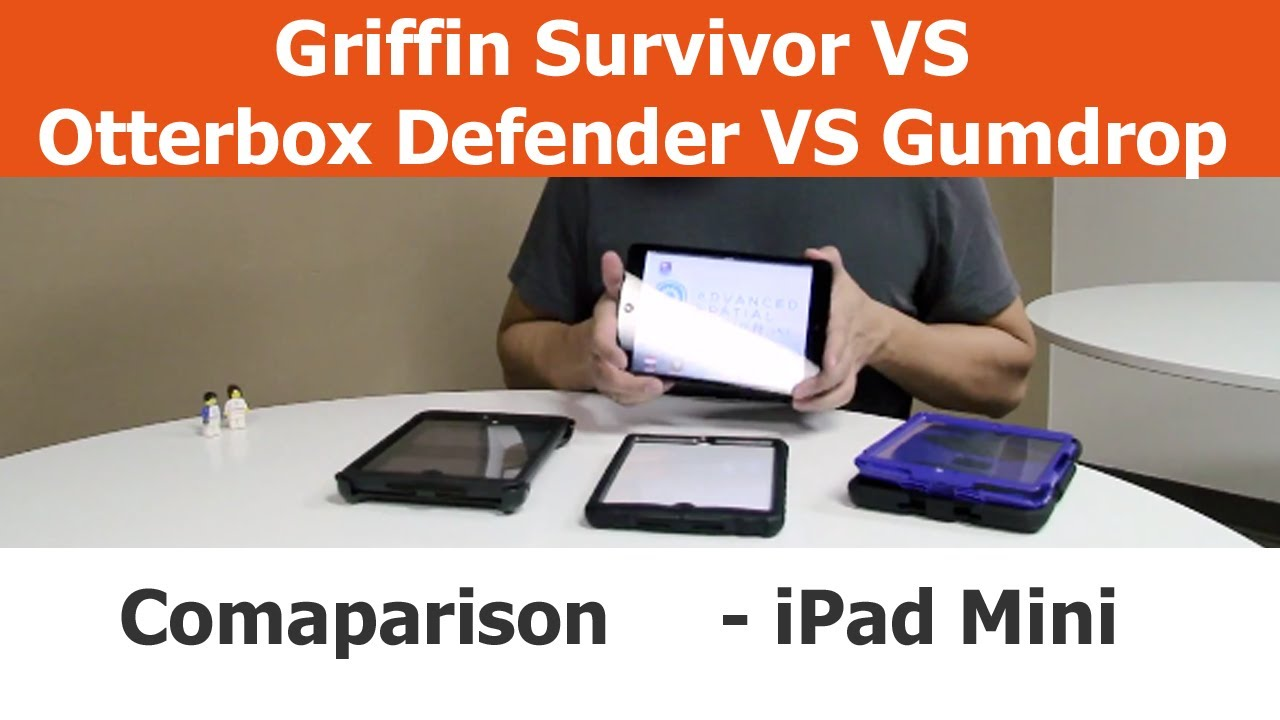 Griffin survivor vs otterbox defender vs gumdrop drop tech youtube