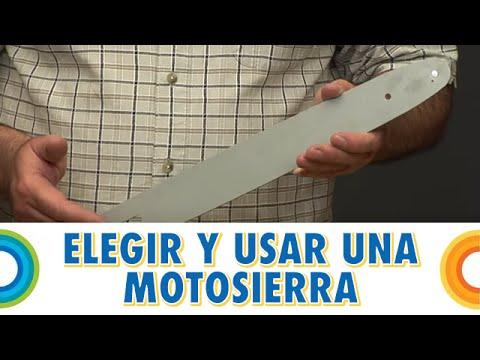 Elegir y usar: motosierra eléctrica (BricocrackTV)