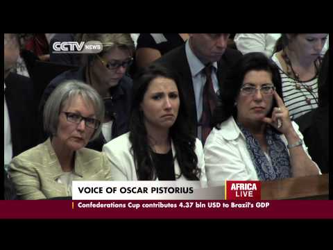Oscar Pistorius Trial:  Pistorius Breaks Down at the Dock