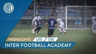 HIGHLIGHTS INTER U16 and U15 | Double match against Atalanta! | Inter Football Academy