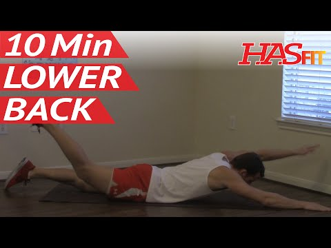10 Minute Lower Back Workout