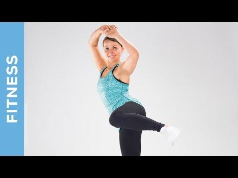 Fitness Fatburner zum Abnehmen -  High Impact Training  (Fortgeschrittene ) - Fit mit Anna - HD
