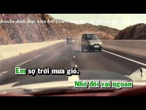 [ Karaoke HD ] Người Tình Mùa Đông Remix