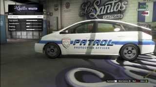 GTA V Online Customizable Merryweather Patrol Car