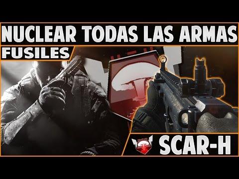 El Nuevo CoD Puede Ser Perfecto! - Nuclear SCAR-H - Fusiles   Nuclear con Todas las Armas - COD BO2