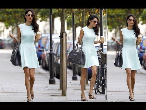 George Clooney's Fiancée Amal Alamuddin New style #1 2014