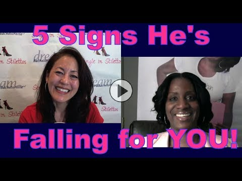 5 Signs He's Falling for You - Dating Advice for Women