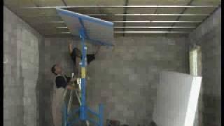 Montaje de pladur en techos y paredes