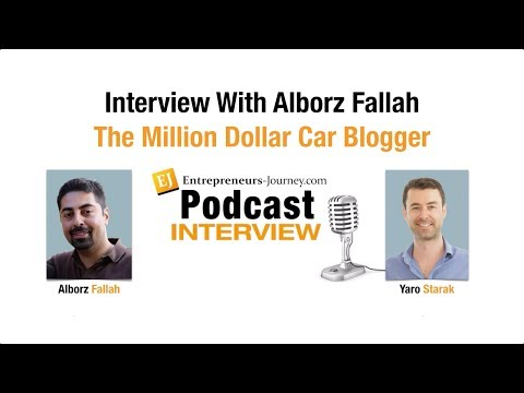 Alborz Fallah: The Million Dollar Car Blogger Video